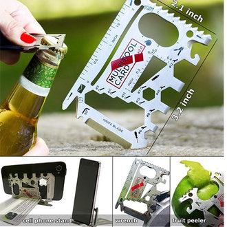 SMART RSQ 37-in-1 EDC Credit Card Multitool