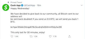 Twitter CashApp Hack