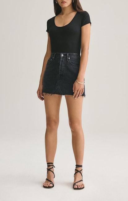 Quinn High Rise Mini Skirt