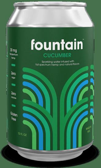 Cucumber + Hemp Extract, 6 Pack