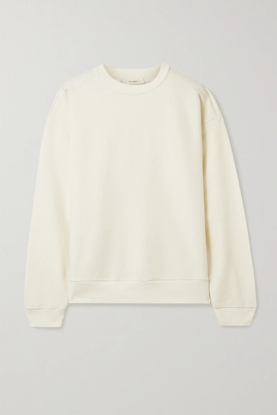 Carlo Cotton And Cashmere-Blend Sweatshirt
