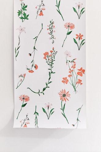 Georgina Floral Removable Wallpaper