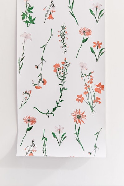 Georgina Floral Removable Wallpaper