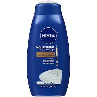 NIVEA Nourishing Care Body Wash with Nourishing Serum