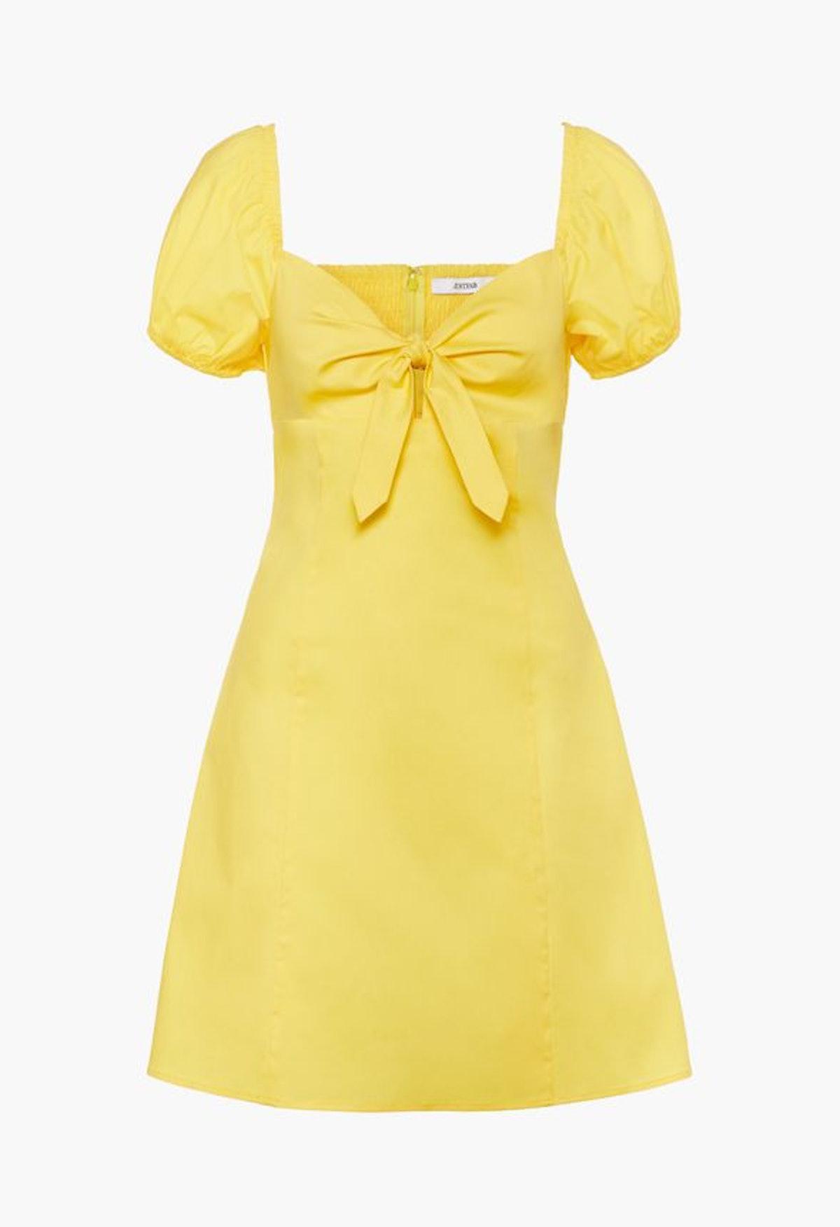 JustFab Front Tie Mini Dress