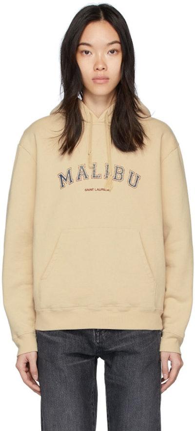 Beige 'Malibu' Hoodie