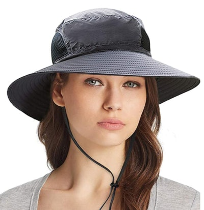 Ordenado Waterproof Mesh Bucket Sun Hat