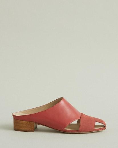 Wren Leather Slide Sandal