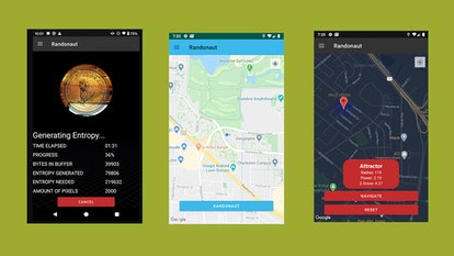 Randonautica is an app that generates random coordinates to send you on an adventure.