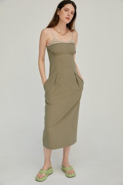 Twist Bustier Dress