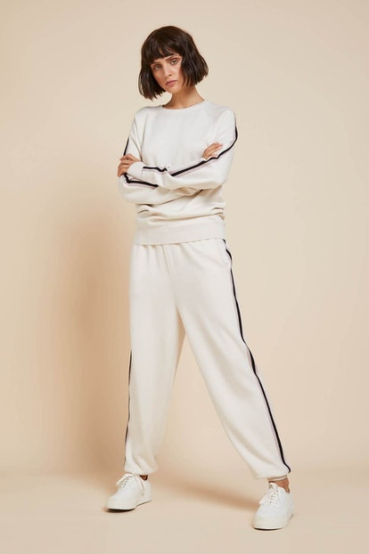 Missy Moscow Silk-Cashmere Tracksuit