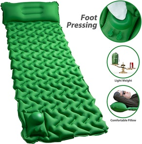 POPCHOSE Camping Sleeping Pad With Air Pillow