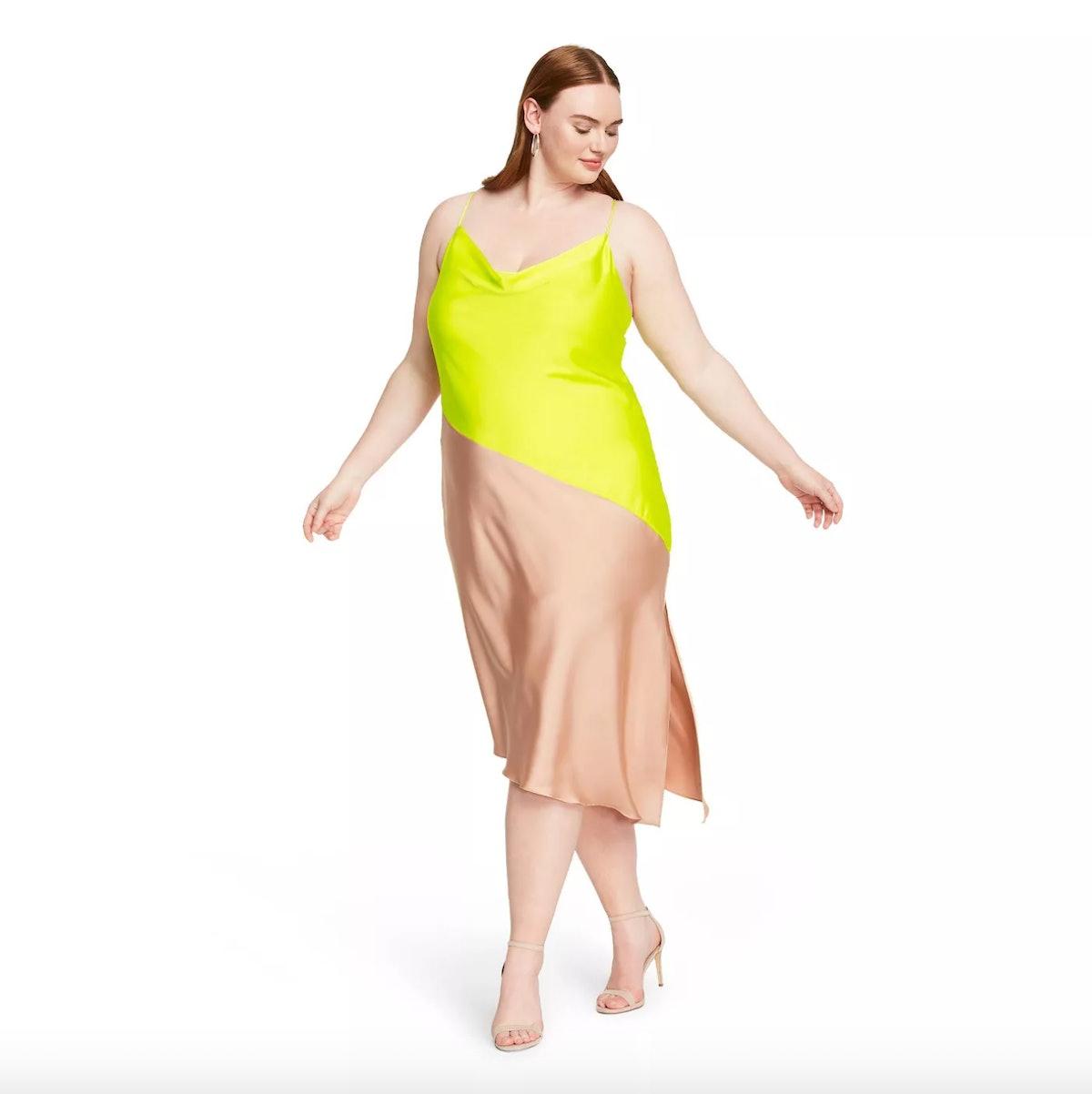 Cushnie For Target Women's Two-Tone Slip Dress
