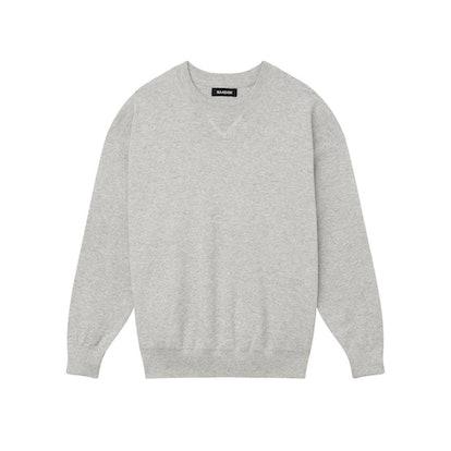 Crewneck Sweatshirt With Flatlock