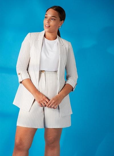 Linen Blazer and Short Suit