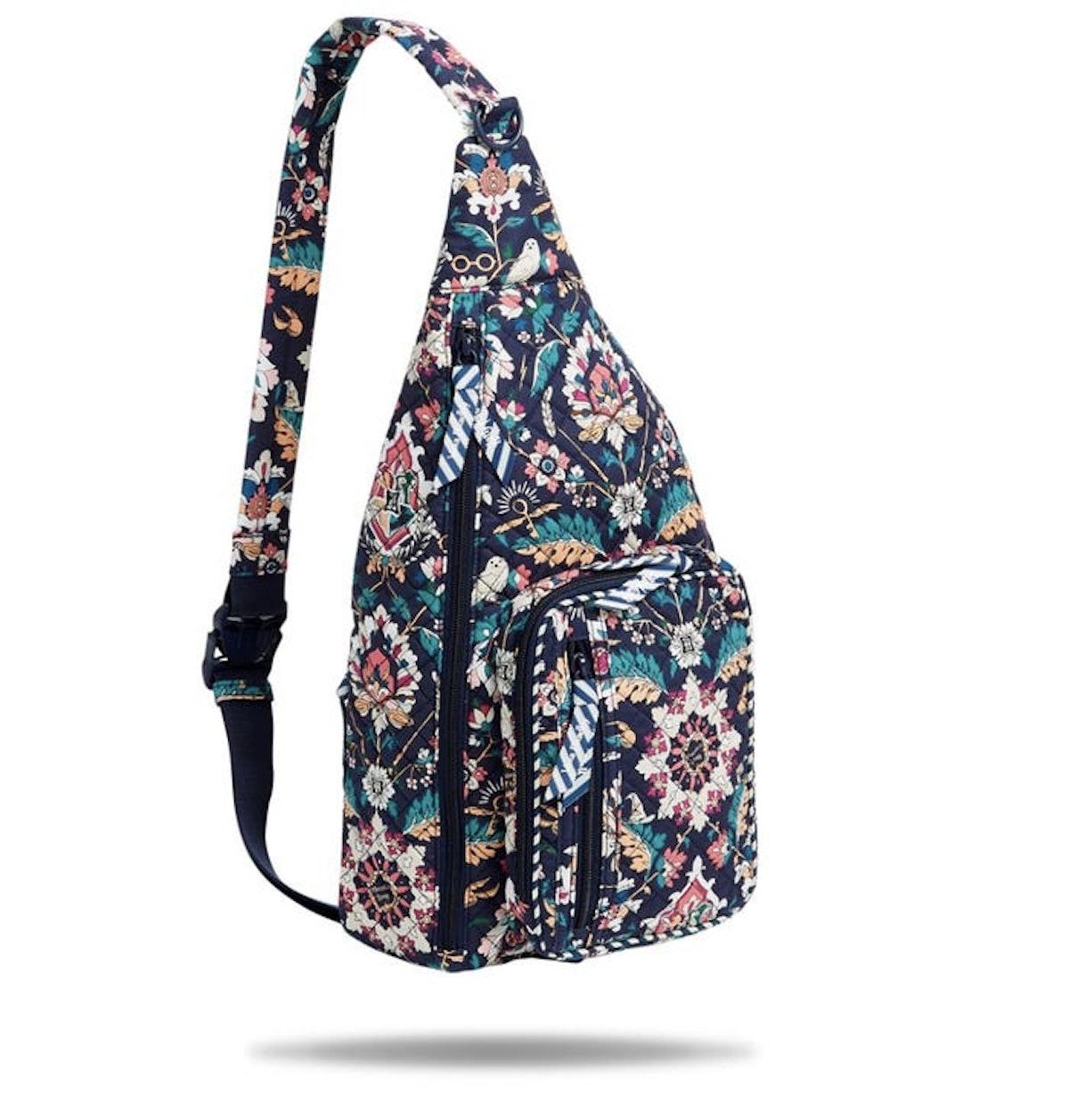 Harry Potter x Vera Bradley Sling Backpack in Home to Hogwarts