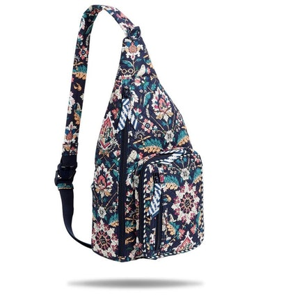 Harry Potter x Vera Bradley Sling Backpack in Home to Hogwarts