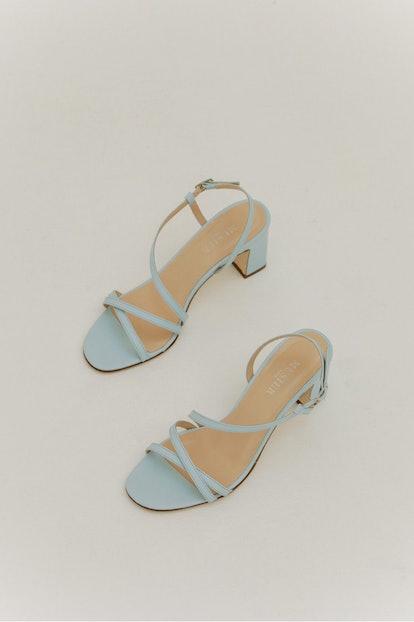 Baby Blue Sandals