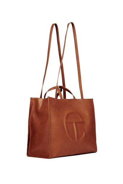 Telfar Large Tan Shopping Bag