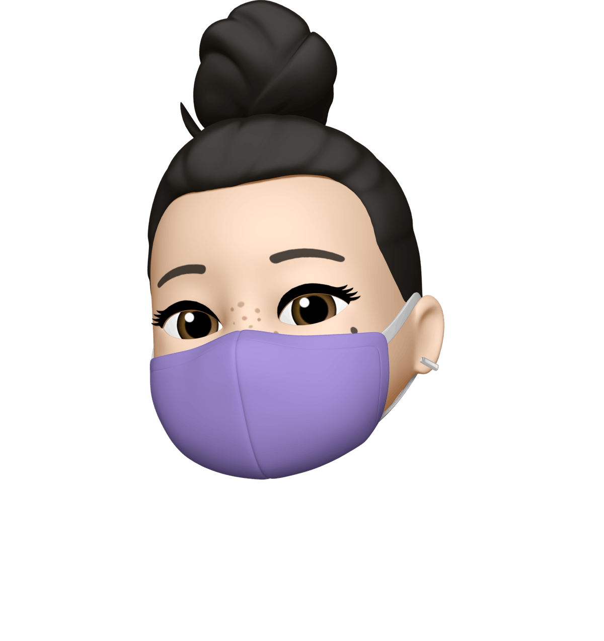 Apple's new emojis and Memojis for iOS 14 include face masks in a few colors.