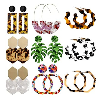 ELOT Acrylic Earrings Set