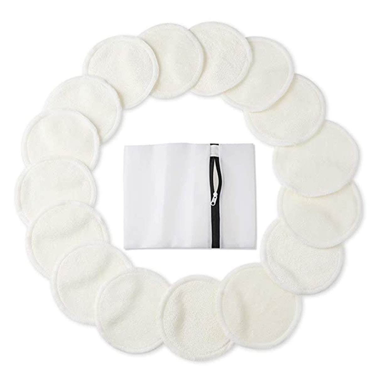 Phogary Bamboo Makeup Remover Pads (16 pack)