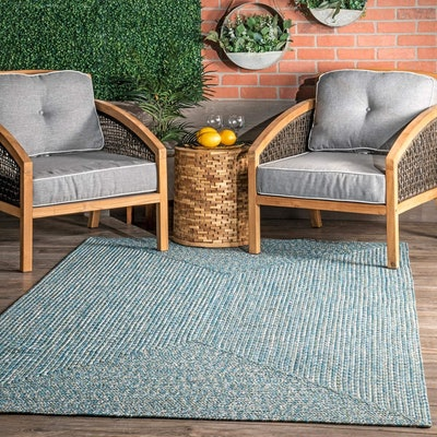 nuLOOM Lefebvre Braided Indoor/Outdoor Area Rug