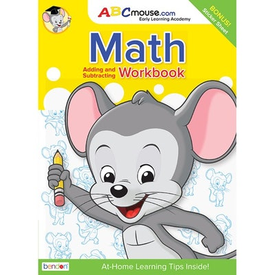 ABCmouse Addition and Subtraction Workbook with Stickers