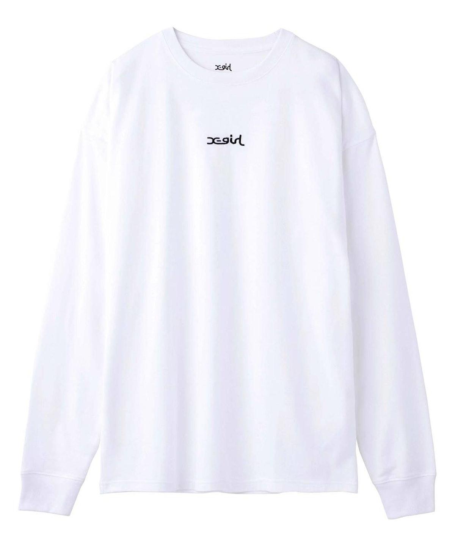 X-Girl Mills Logo L/S Tee