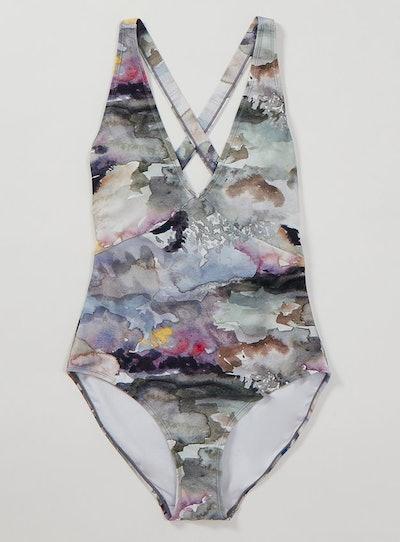 Graduate Fashion Week Watercolour Swimsuit