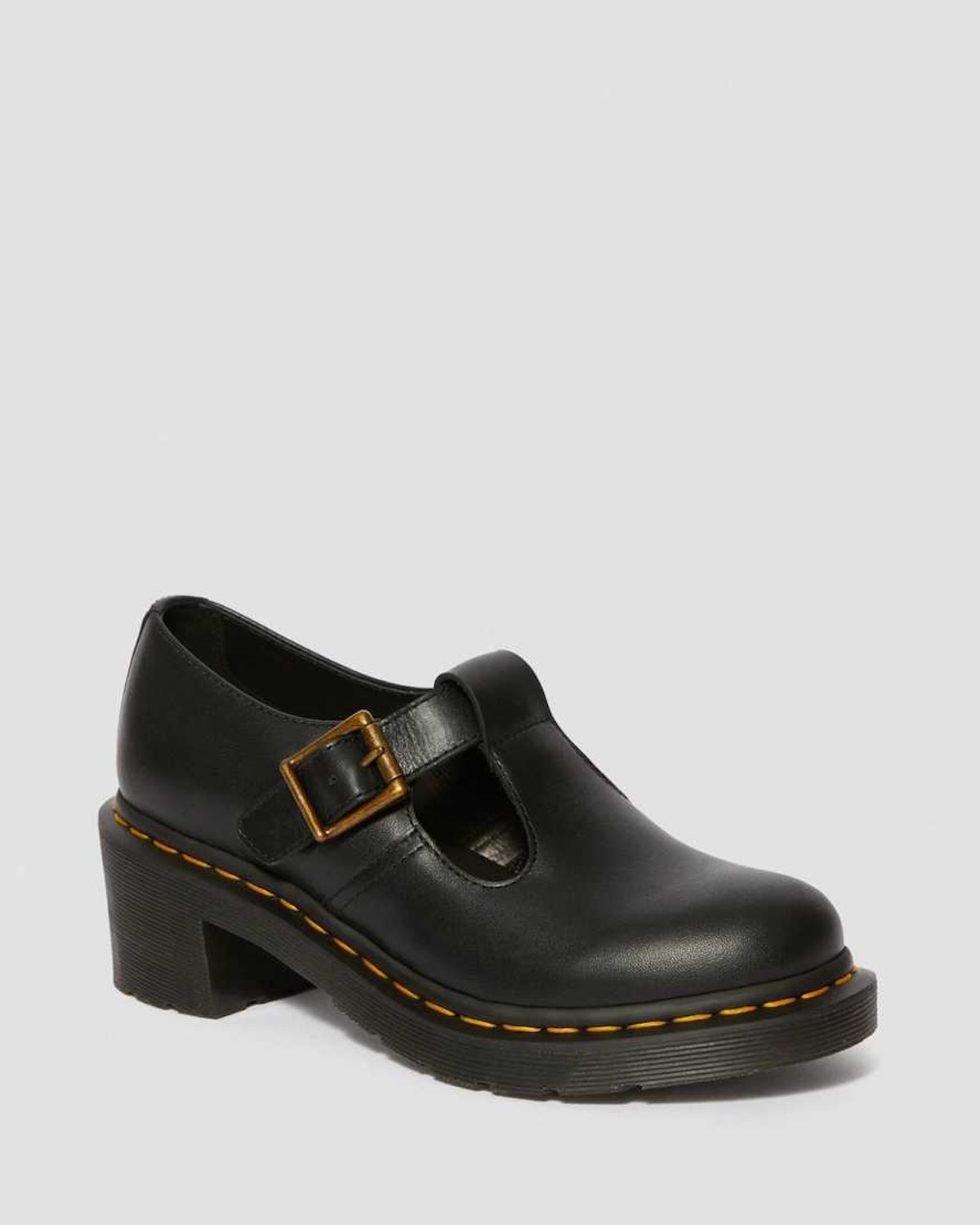 Dr. Martens Sophia Women's Leather Heeled Mary Jane Shoes