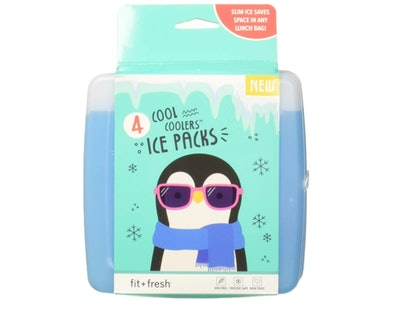 Fit & Fresh Cool Coolers Freezer Packs (4-Pack)