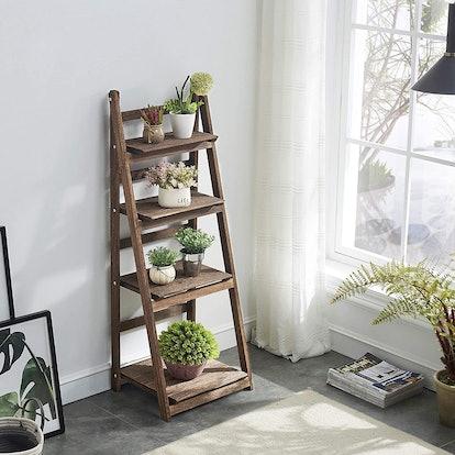 Rose Home Fashions Foldable Ladder Shelf
