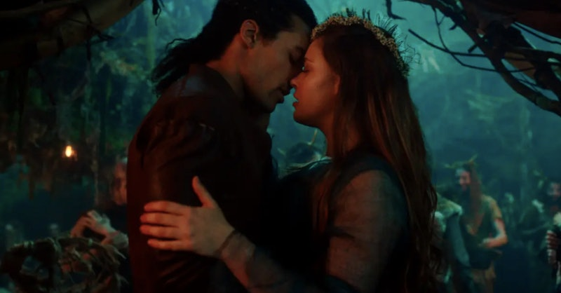 King Arthur and Nimue in Cursed