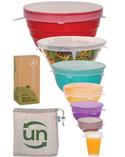 unwasted Silicone Stretch Lids Set