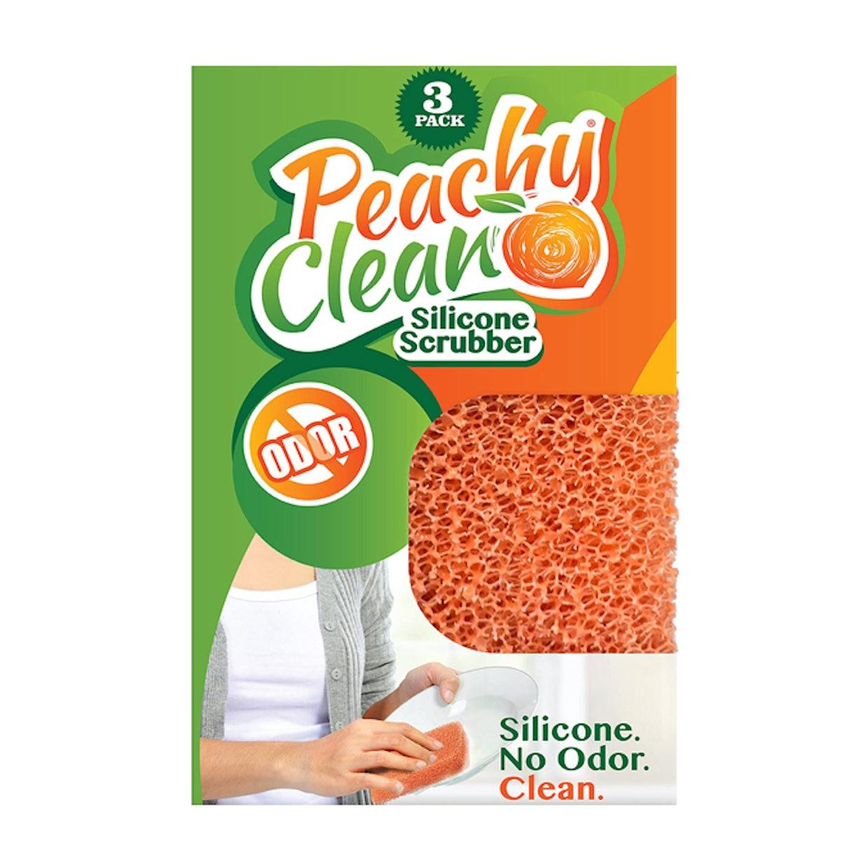 Peachy Clean Silicone Scrubber (3-Pack)