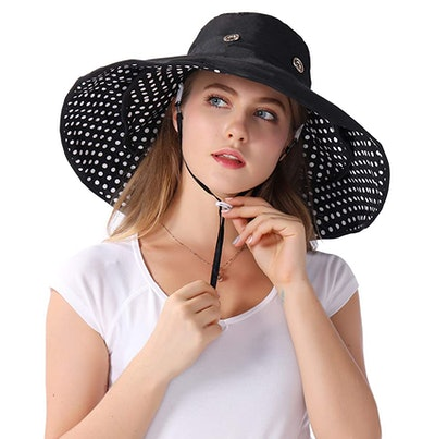 Packable Extra Large Brim Floppy Sun Hat