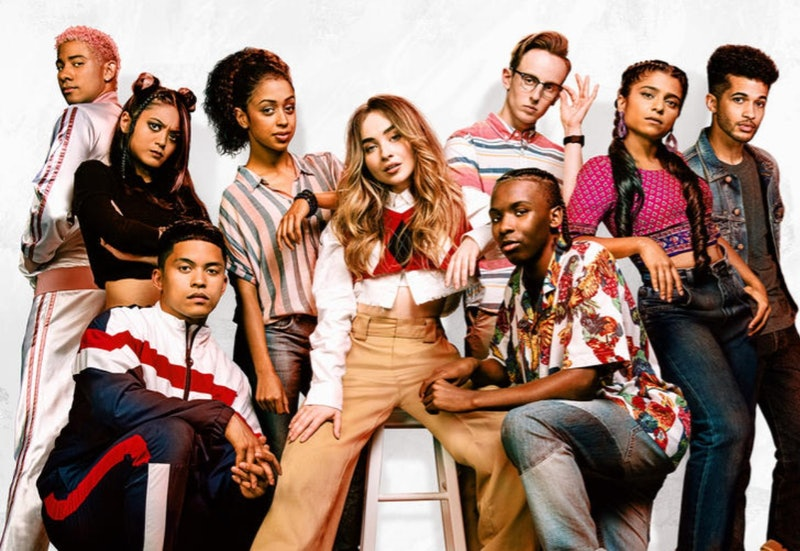 The cast of Netflix's 'Work It'