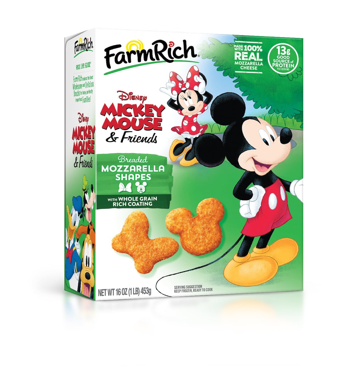 Here's where to buy Farm Rich's Disney Mickey Mouse and Friends Mozzarella Shapes for a fun snack.