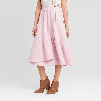 Universal Thread Wrap A-Line Skirt
