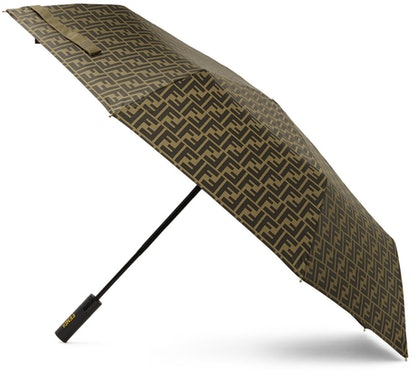 Brown 'Forever Fendi' Umbrella