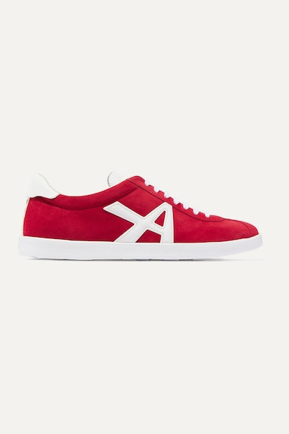 The A Leather Sneakers