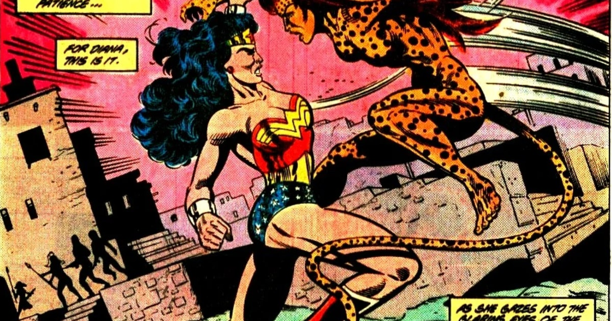 'Wonder Woman 1984' leak reveals Cheetah's David Bowie-inspired new look