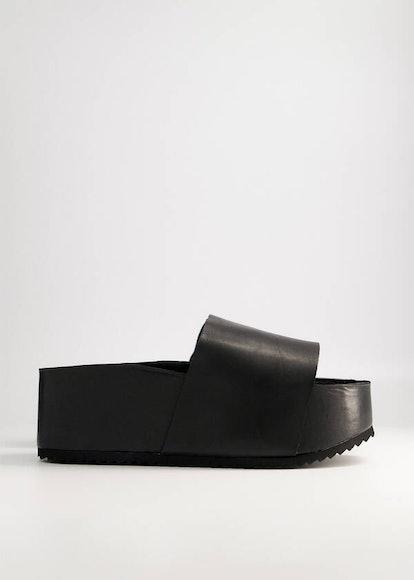 Cooper Platform in Black