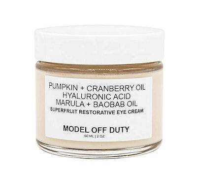 Model Off Duty Superfruit Restorative Eye Cream
