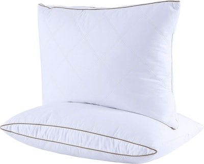 puredown Natural Goose Down Feather Pillows (2-Pack)