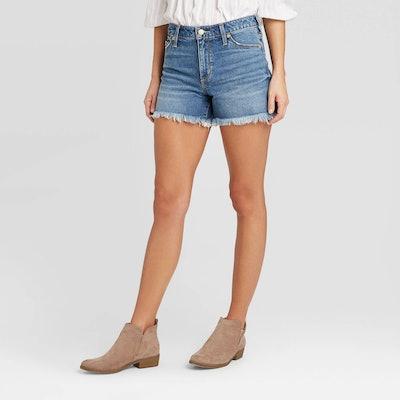 Universal Thread High-Rise Jean Shorts