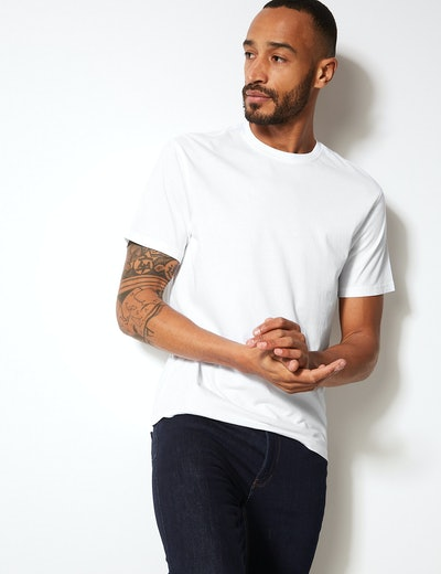5. Pure Cotton Crew Neck T-Shirt