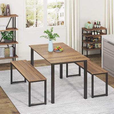 HOMURY 3-Piece Dining Table Set