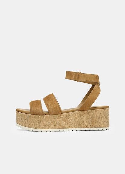 Suede Jet Platform Sandal